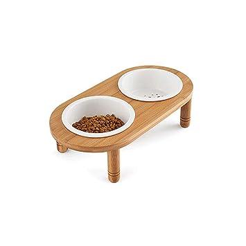 TONGBOSHI Cuenco para perros, Cuenco de arroz para mascotas ...