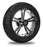 Xtreme Machine Fierce Xquisite Rear Wheel Package, 17'' x 6'' 9270-7716R-XFR-BMP