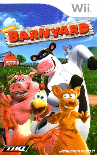 Barnyard Wii Instruction Booklet (Nintendo Wii Manual Only - NO GAME) [Pamphlet only - NO GAME INCLUDED] - Wii Barnyard