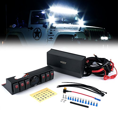 Tajxlcs L on Relay Switch With Led Light Bar