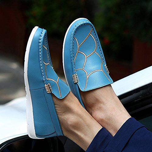 Abby 628 Menns Uformelle Loafers Slip-on Smart Kjøring Jobb Stilige Sko Blove