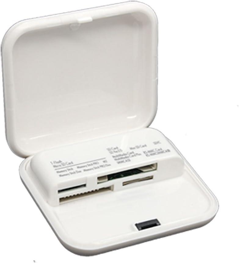 Vestir Tipo de caja USB MS M2 SD MicroSD lector de tarjetas de ...