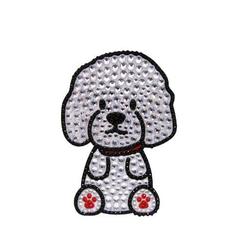 FouFou Dog Rhinestone Sticker, Bichon