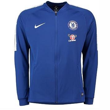 Nike 2018 2019 Chelsea Squad Track Jacket (Blue):