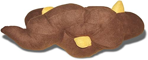 Fleces Corn Log Poo Pillow