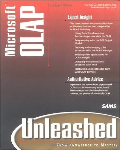 Microsoft OLAP Unleashed
