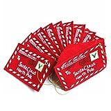 Da.Wa 10Pcs Card Holders Envelopes Felt Holiday Money Enevelops Christmas Gift Decoration