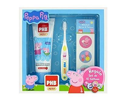 Pack PHB Petit Peppa Pig Su primer cepillo