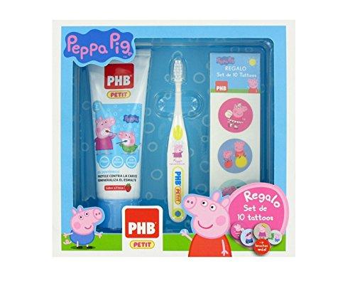 Pack PHB Petit Peppa Pig Su primer cepillo: Amazon.es: Salud y cuidado personal