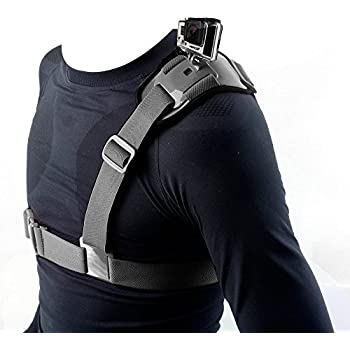 Xventure For Go Pro Shoulder Chest Strap Mount Harness