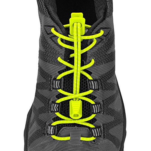 Nathan NS1170 Run Laces Safety Yellow, Safety, One