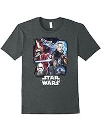 Last Jedi Paint Portraits Collage Poster T-Shirt