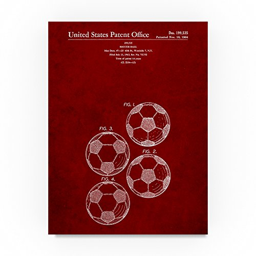 Soccer Ball 4 Image by Cole Borders, 35x47-Inch Canvas Wall Art by Trademark Fine Art