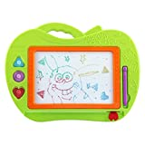 Cartoon Colorful Drawing Board Erasable Writing Sketching Pad Learning Painting Board Magnetic Pen Doodle Toy
