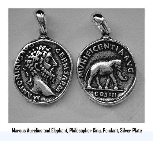 Golden Artifacts Marcus Aurelius, Philosopher King, Roman Coins, Pendant, Roman Empiret -