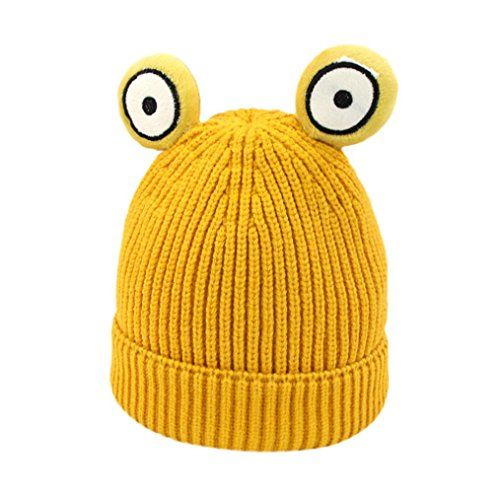 TATGB Kids Boys Girls Knitted Crochet Beanie Winter Warm Hat Cap 8 Colors (Wool Argyle Hat)