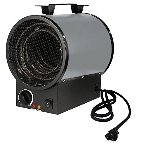 King Electric PGH2440TB 4000-watt 240-volt Garage Heater with Mounting Bracket - Air Seal Heater