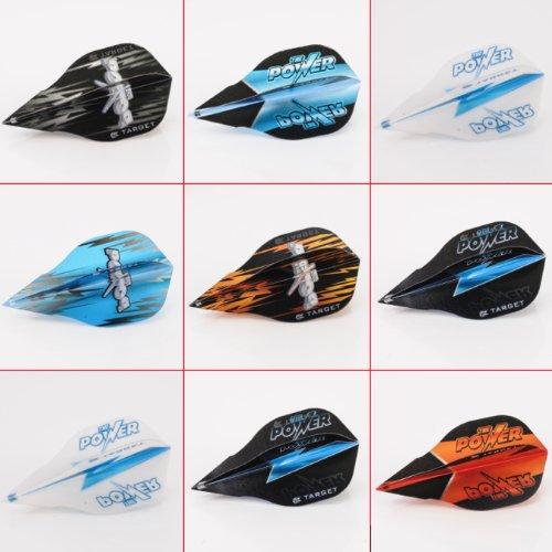 5 x Mixed Sets of Target Phil Taylor Vision Edge Dart Flights Power Shape by PerfectDarts