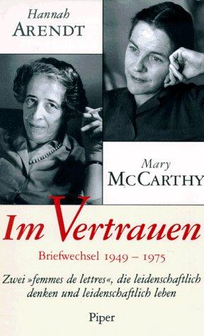 Im Vertrauen: Briefwechsel 1949-1975