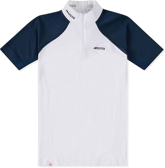 Musto Camisa Performance Mujer Stock Azul Marino/Blanco: Amazon.es: Deportes y aire libre