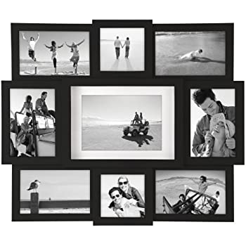 Malden international designs array puzzle collage picture frame 9 option 2 4x4