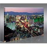 islandburner Las Vegas 1p modern canvas art print