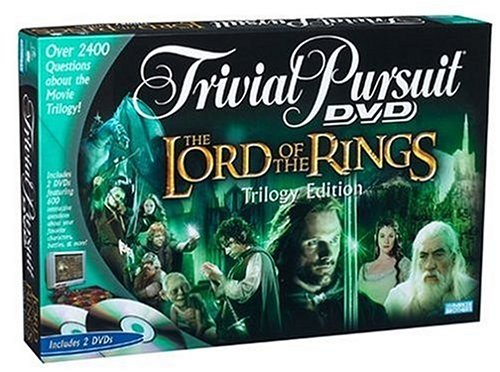 (Hasbro Trivial Pursuit DVD Game The Lord of The Rings Edition)