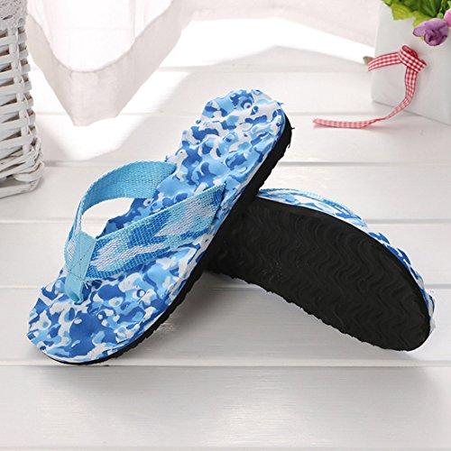 Blue pour Chaussons Light Femme Women Zhaoke Zwg4x1