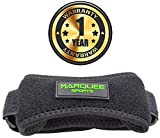 Patella-Knee-Strap-for-Running-Basketball-and-Hiking-by-Marquee-Sports-Adjustable-Patellar-Tendon-Pain-Relief-and-Support-Brace-from-Jumpers-Knee-Chondromalacia-and-Tendonitis-Black