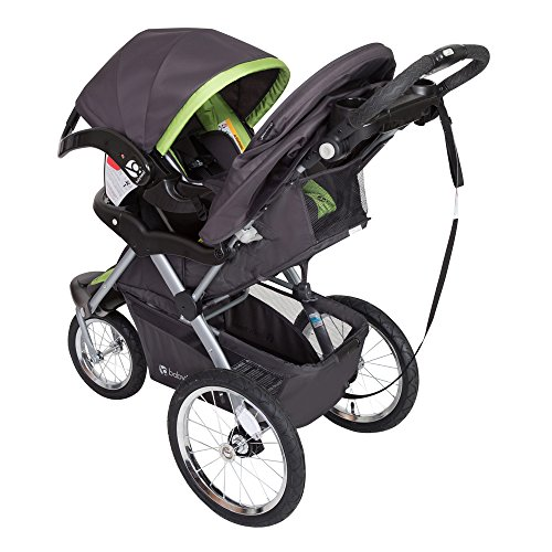 Baby Trend Expedition GLX Jogger Travel System, Flex Loc 32lb Car Seat, Peridot by Baby Trend (Image #2)