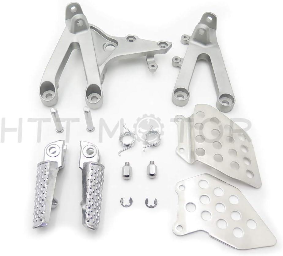1 set Chrome Footpegs For 1987-2000 Honda CBR 600RR CBR600RR