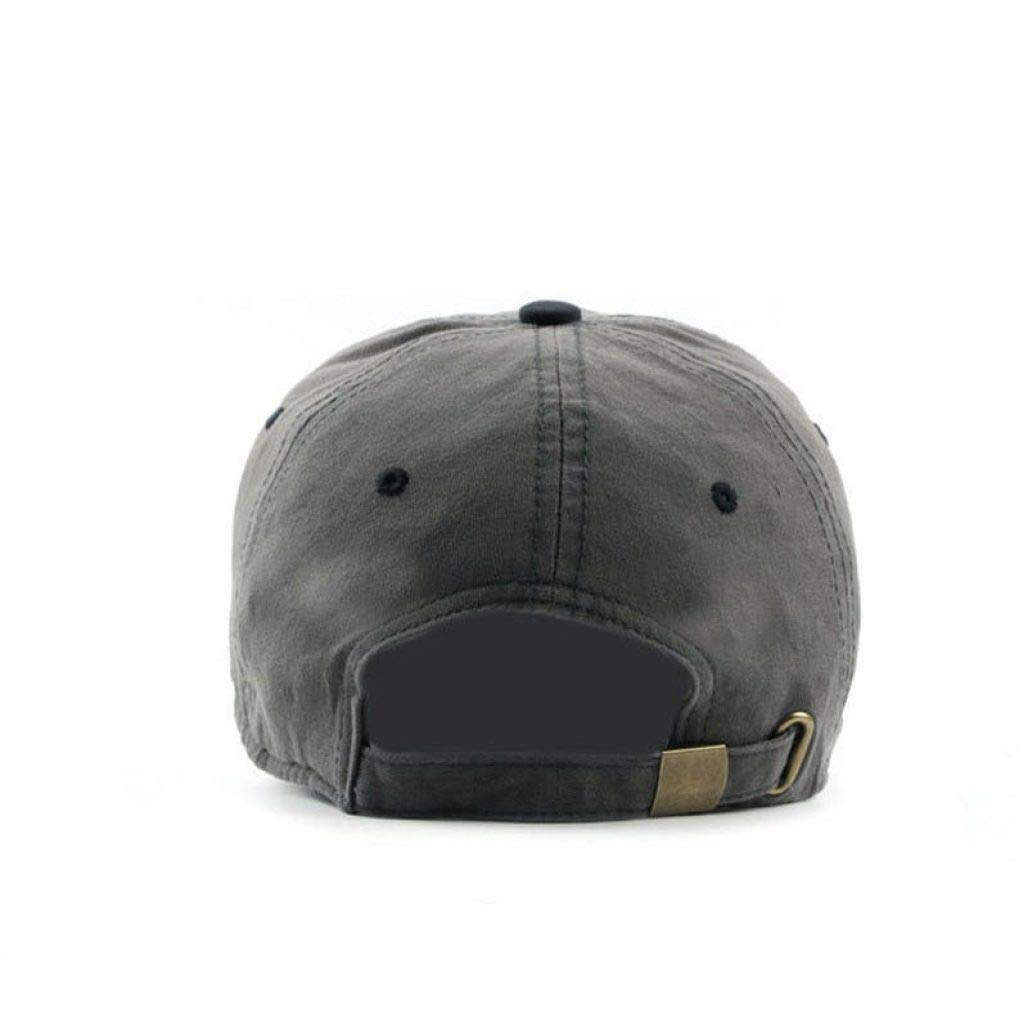 Patchwork Baseball Cap Adjustable Size Women Men Unisex Hip Hop Outdoor Sun Visor Dad Snapback Hat