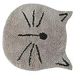 "U'Artlines Cute Cat Design Doormat Bath mat Nursery Mat for kids Microfiber Bathroom Mats (24"" Grey)"