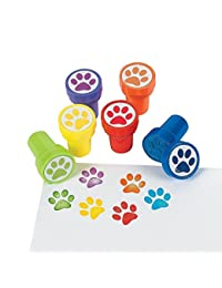 Animal Paw Print Stamper Stamps - Pack of 24 Pieces BOBEBE Online Baby Store From New York to Miami and Los Angeles