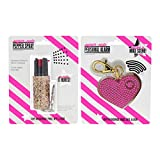Super-Cute Self Defense Safety Two Pack - 115 Db Personal Safety Alarm and Police Strength Pepper Spray with UV Marking Dye Bundle, Pink & Rose Gold