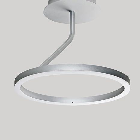 Modern - Lámpara LED de techo completan 1 anillo lámpara de ...