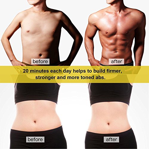 MotherMed EMS Waist Trimmer Electronic Abdominal Muscle Stimulation AB Belt Toning Massager with Belt For Arm, Abdomen, Thight, Leg, Butt