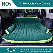 3 Trees Inflatable and Foldable Car Bed Air Mattress with Electric Air Pump, Repair Pad and Glue Kit for SUV / MPV Vehicles
