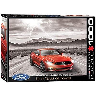 EuroGraphics 2015 Ford Mustang Jigsaw Puzzle (1000-Piece): Toys & Games