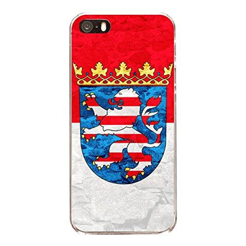 "Disagu Design Case Schutzhülle für Apple iPhone SE Hülle Cover - Motiv ""Hessen"""
