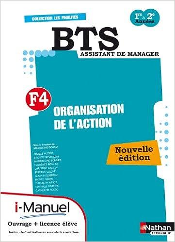 En ligne téléchargement gratuit ORGANISA DE L'ACTION BTS F4 L pdf, epub