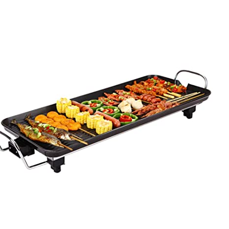 Parrilla Teppanyaki, BBQ Sartén Eléctrica para El Hogar ...