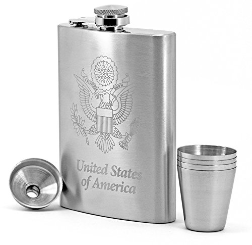 Pewter Liquor Flask - 3