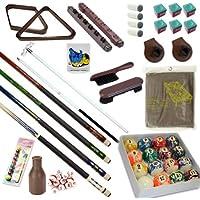 Kit de accesorios para mesa de billar de 32 piezas – palos de billar puente bola juegos