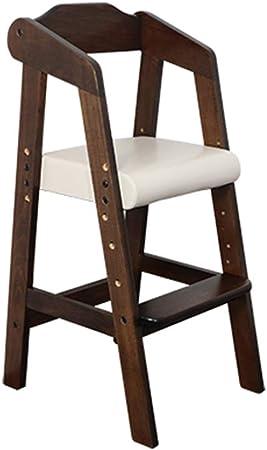 en Bois Ergonomique Chaise Haute Chaise de Salle à Manger