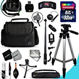samsung nx1100 - Xtech PRO 32GB Accessories KIT for Samsung NX500, NX1, NX3000, WB2200F, WB1100F, NX30, NX, NX2000, NX1100, NX300, NX300M, EX2F, NX1000, NX210 Cameras Includes: 32GB Memory Card + Monopod + Padded Case