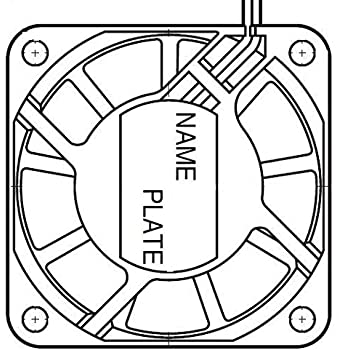 amazon nmb technologies 2406kl 05w b30 l00 axial fan 60mm Ebm-Papst Blower Wiring Diagram nmb technologies 2406kl 05w b30 l00 axial fan 60mm 24vdc