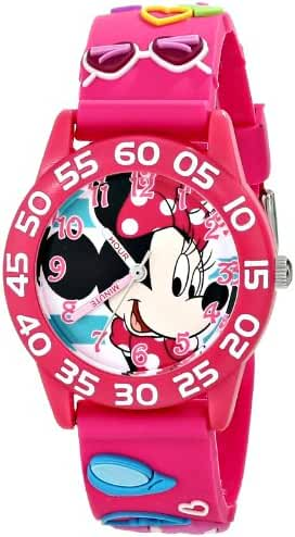 Disney Kids' W001523 Minnie Mouse 3D Watch