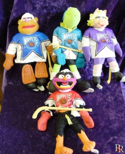 Jim Henson's Muppets Hockey Players Set From Mcdonald's (Muppets Dolls)