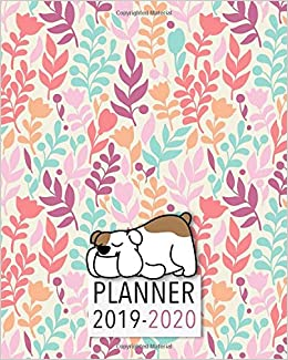 Ucf Academic Calendar Fall 2020.Planner 2019 2020 18 Month Academic Planner Monthly And Weekly